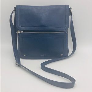 NWOT Relic Blue Crossbody Bag